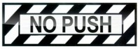 No Push