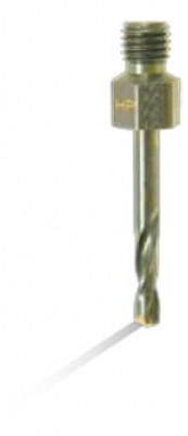 #40 Long Cobalt Threaded Drill