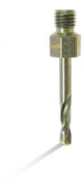 #37 Cobalt Short Stubby Threaded Shank Drill Bit Overall Length 1-1//4
