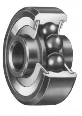 FAFNIR KP4 SINGLE ROW BALL BEARING