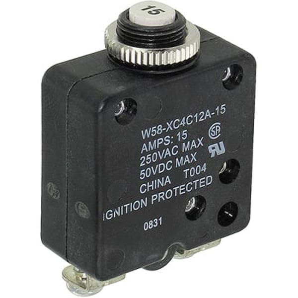 TYCO 5 Amp Circuit Breaker W58-XC4C12A-5