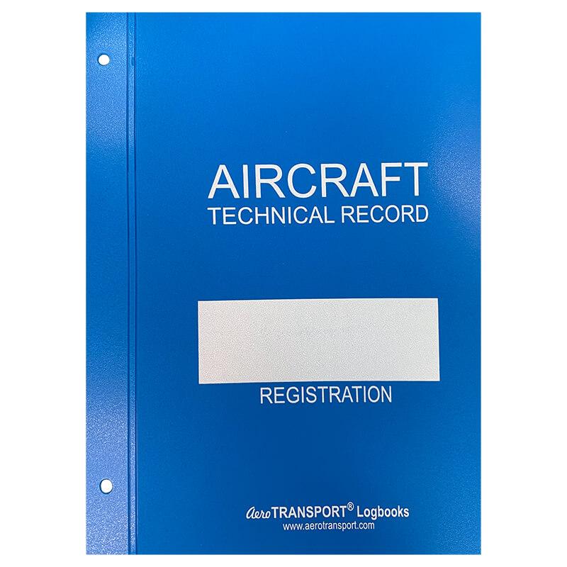 AIRCRAFT TECHNICAL LOG POST BINDER
