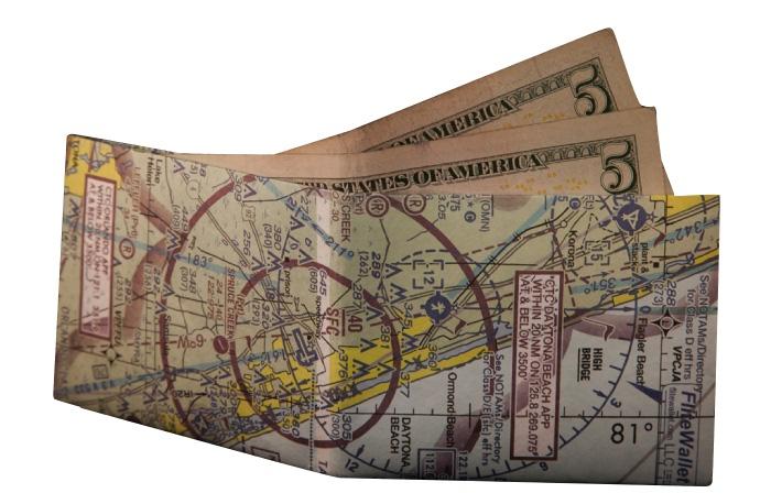 San Francisco Aviation Map Wallet